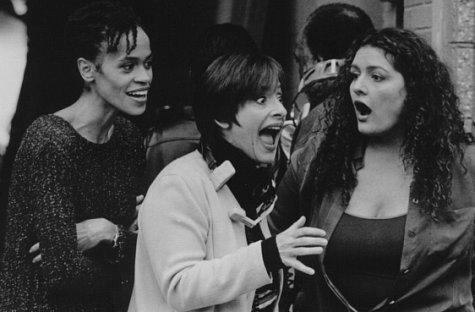 Patti LuPone, Aida Turturro, and Alicia Renee Washington in The 24 Hour Woman (1999)