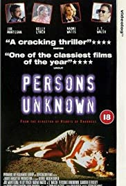Persons Unknown (1996) Poster - Movie Forum, Cast, Reviews