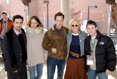 Glenn Close, Chris Terrio, Jesse Bradford, John Light, and Susan Malick at an event for Heights (2005)