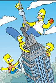 The City of New York vs. Homer Simpson Poster