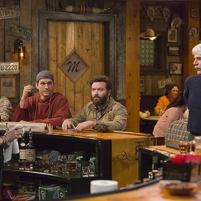 Sam Elliott, Debra Winger, Ashton Kutcher, and Danny Masterson in The Ranch (2016)
