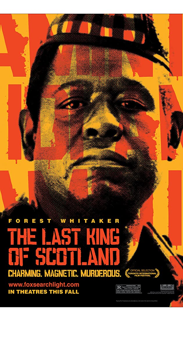 analysis of the last king of scotland In an incredible twist of fate, a scottish doctor on a ugandan medical mission  becomes irreversibly entangled with one of the world's most barbaric figures: idi.