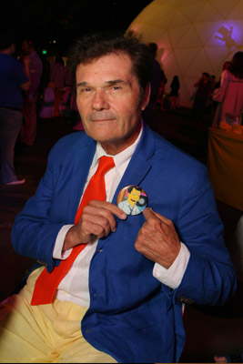Fred Willard at The Simpsons Movie (2007)