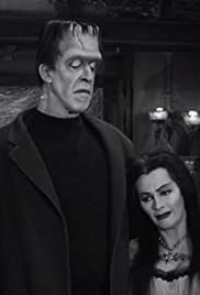 family portrait poster - Munsters Halloween Episode