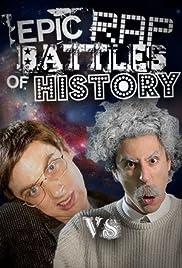 Albert Einstein vs. Stephen Hawking Poster
