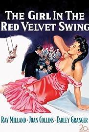 The Girl in the Red Velvet Swing Poster