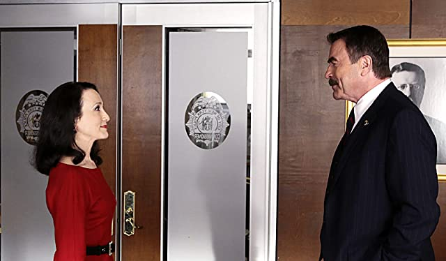 Tom Selleck and Bebe Neuwirth in Blue Bloods (2010)