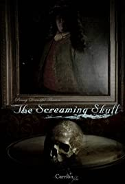 The Screaming Skull Poster