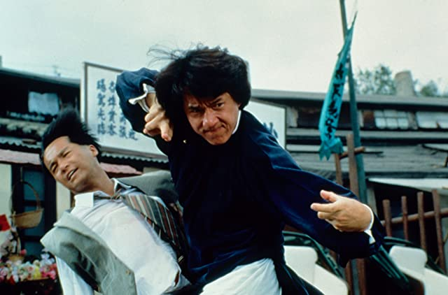 Jackie Chan in The Legend of Drunken Master (1994)