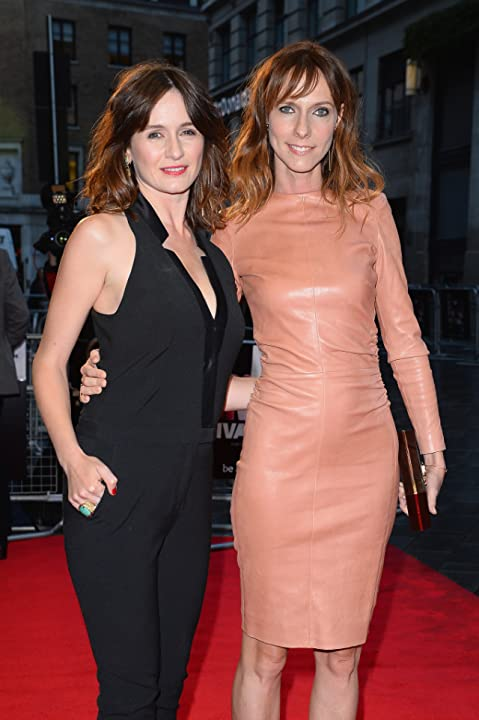 Emily Mortimer and Dolly Wells at Doll & Em (2013)
