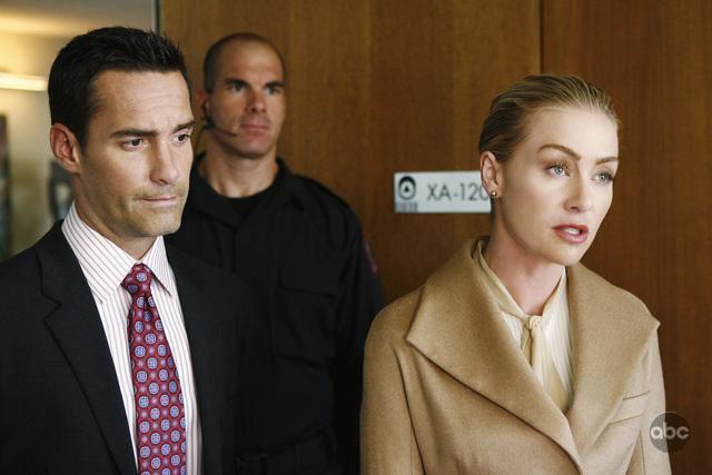 Portia de Rossi, Jay Harrington, and Brandon Molale in Better Off Ted (2009)