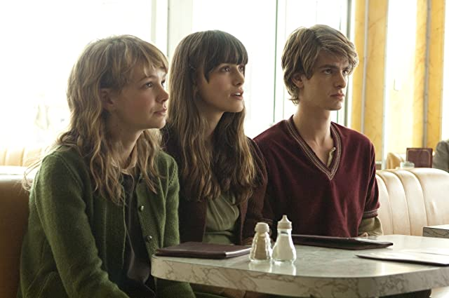 Keira Knightley, Carey Mulligan, and Andrew Garfield in Never Let Me Go (2010)