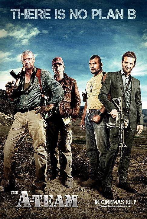 Liam Neeson, Bradley Cooper, Sharlto Copley, and Quinton 'Rampage' Jackson in The A-Team (2010)