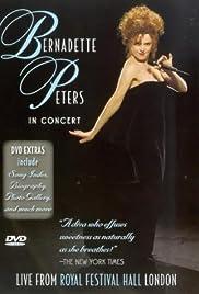 Bernadette Peters in Concert Poster