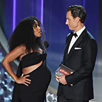Tony Goldwyn and Kerry Washington at The 68th Primetime Emmy Awards (2016)