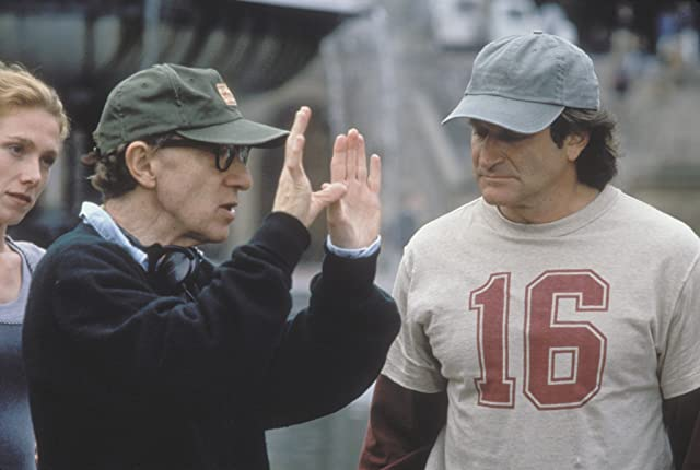 Woody Allen and Robin Williams in Deconstructing Harry (1997)