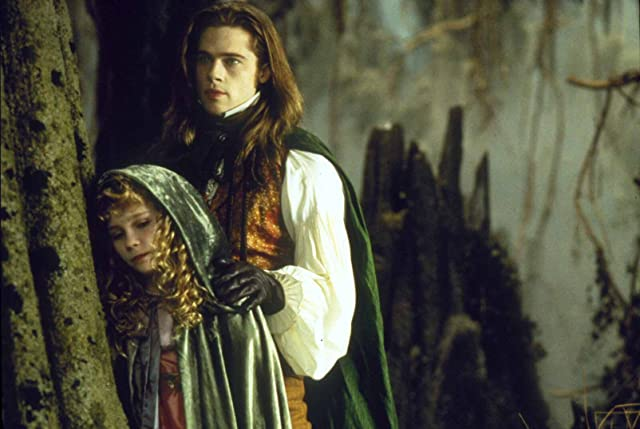 Brad Pitt and Kirsten Dunst in Interview with the Vampire: The Vampire Chronicles (1994)