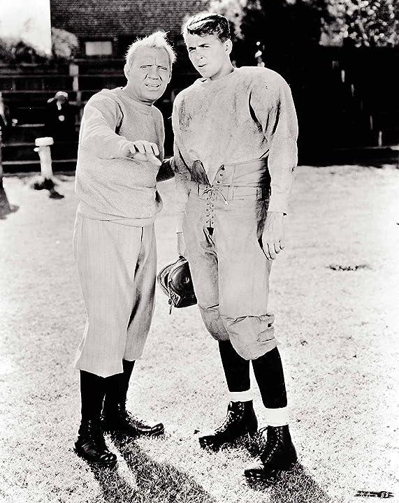Ronald Reagan and Pat O'Brien in Knute Rockne All American (1940)