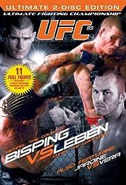 UFC 89: Bisping v Leben Poster