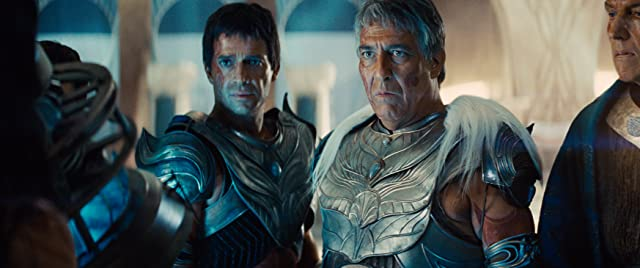 Ciarán Hinds and James Purefoy in John Carter (2012)