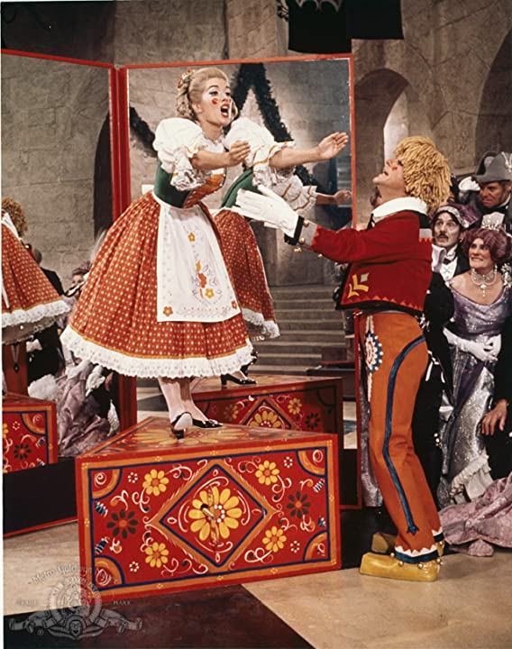 Dick Van Dyke and Sally Ann Howes in Chitty Chitty Bang Bang (1968)
