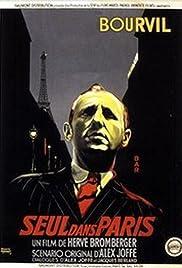 Seul dans Paris Poster