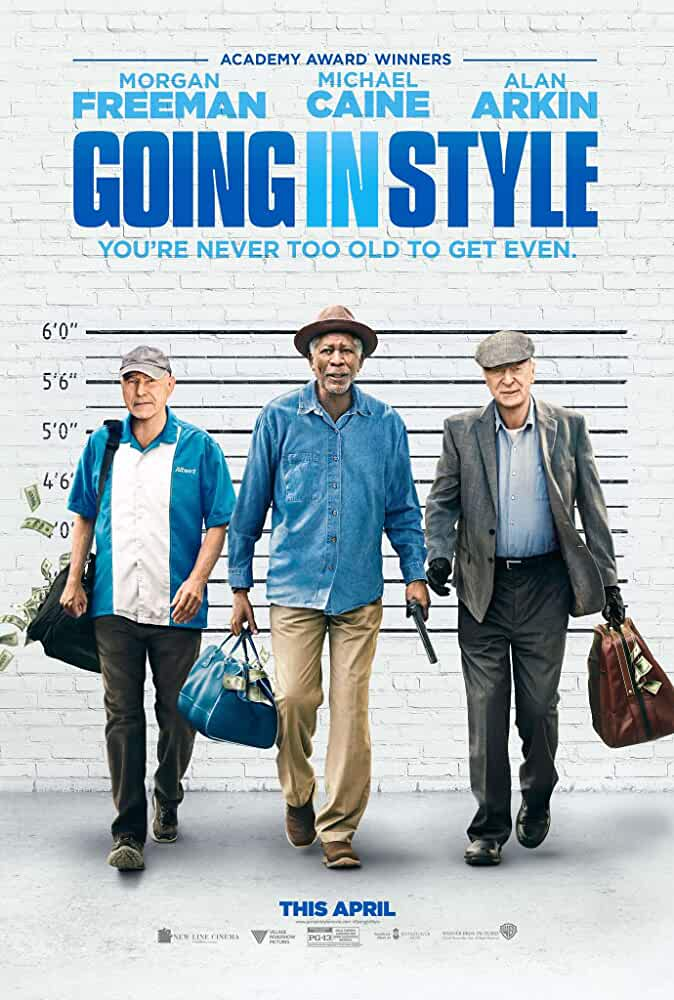 Going in Style 2017 720p BRRip Full Movie Watch Online Free Download at movies365.me