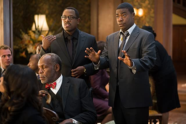 Danny Glover, Martin Lawrence, and Tracy Morgan in Death at a Funeral (2010)