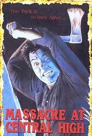 Massacre at Central High Poster