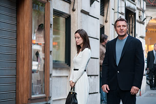 Liam Neeson and Olivia Wilde in Third Person (2013)