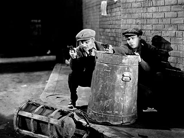 James Cagney and Edward Woods in The Public Enemy (1931)