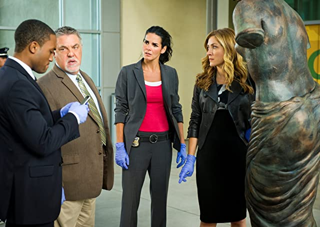 Angie Harmon, Sasha Alexander, Bruce McGill, and Lee Thompson Young in Rizzoli & Isles (2010)