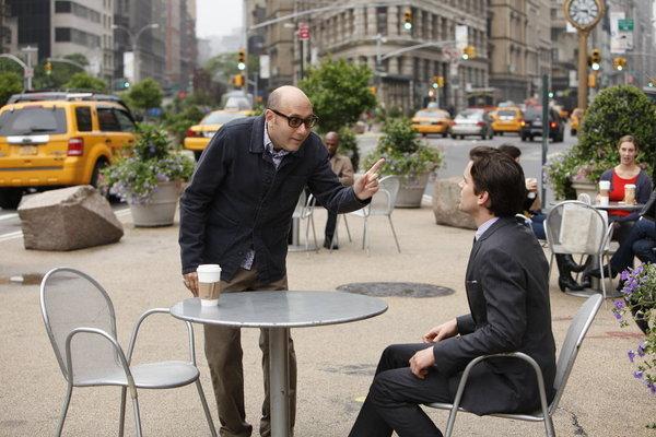 Matt Bomer and Willie Garson in White Collar (2009)