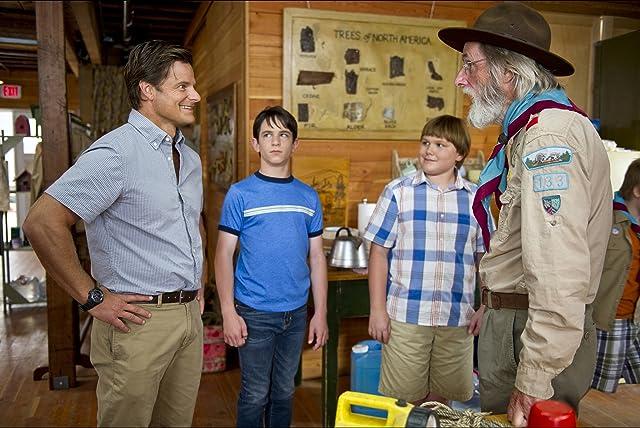 Steve Zahn, Frank C. Turner, Zachary Gordon, and Robert Capron in Diary of a Wimpy Kid: Dog Days (2012)