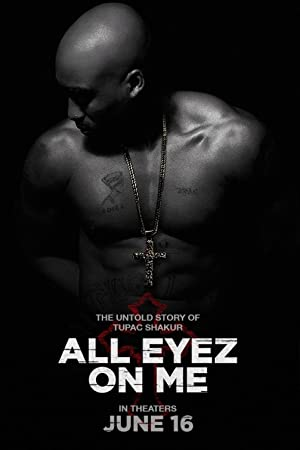 Poster All Eyez on Me
