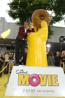 David Silverman at an event for The Simpsons Movie (2007)