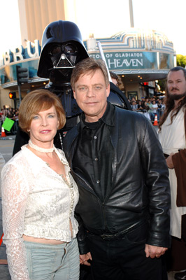 Mark Hamill and Marilou York at an event for Star Wars: Episode III - Revenge of the Sith (2005)