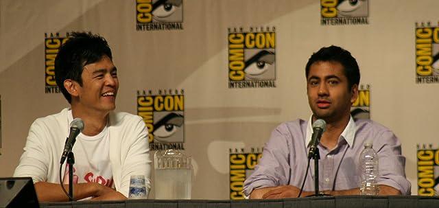 John Cho and Kal Penn at Harold & Kumar Escape from Guantanamo Bay (2008)