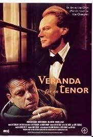Veranda för en tenor Poster