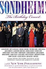Sondheim! The Birthday Concert Poster