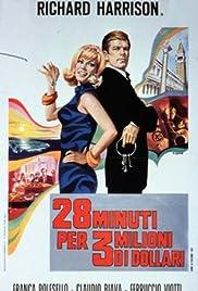 28 minuti per 3 milioni di dollari Poster