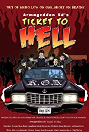 Armageddon Ed's Ticket to Hell Poster
