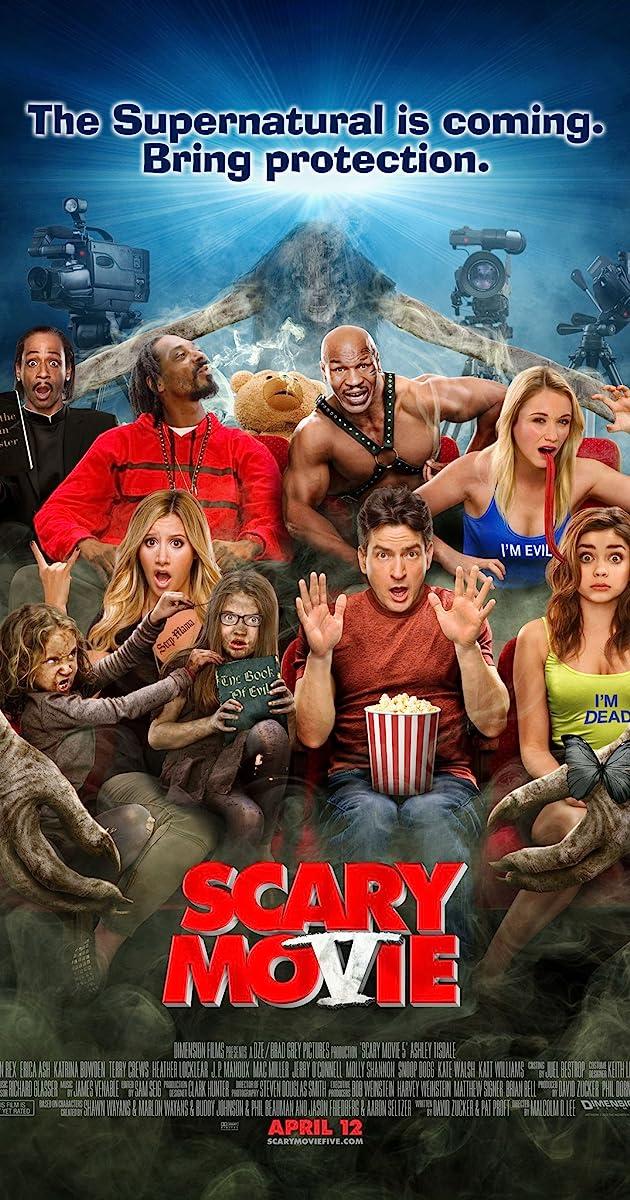 Pats baisiausias filmas 5 / Scary Movie 5 (2013) Online