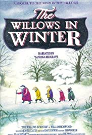 The Willows in Winter Poster