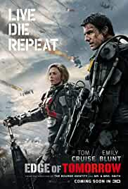 Edge Of Tomorrow Affiche du film