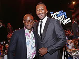 Mahershala Ali and Barry Jenkins at an event for 32nd Film Independent Spirit Awards (2017)