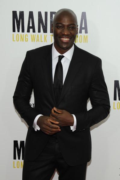Adewale attends MANDELA NY premiere
