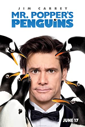 Poster Mr. Poppers Pinguine