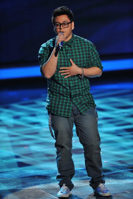Andrew Garcia in American Idol (2002)
