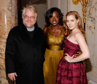 Philip Seymour Hoffman, Amy Adams, and Viola Davis at an event for Doubt (2008)